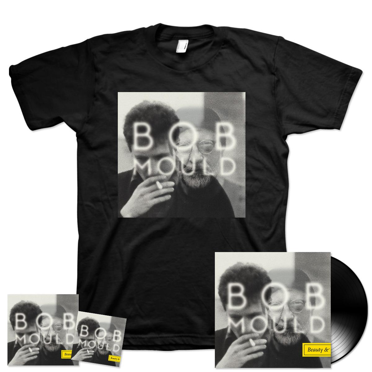 Bob Mould - Beauty & Ruin T-Shirt + CD + LP + Digital Download Bundle