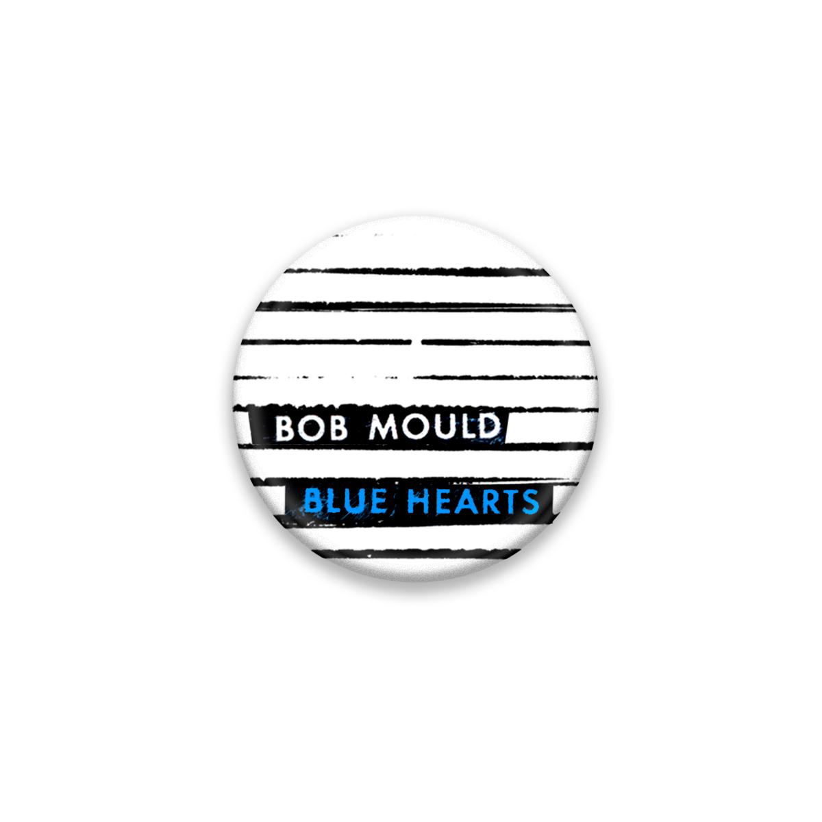 Blue Hearts Button #1