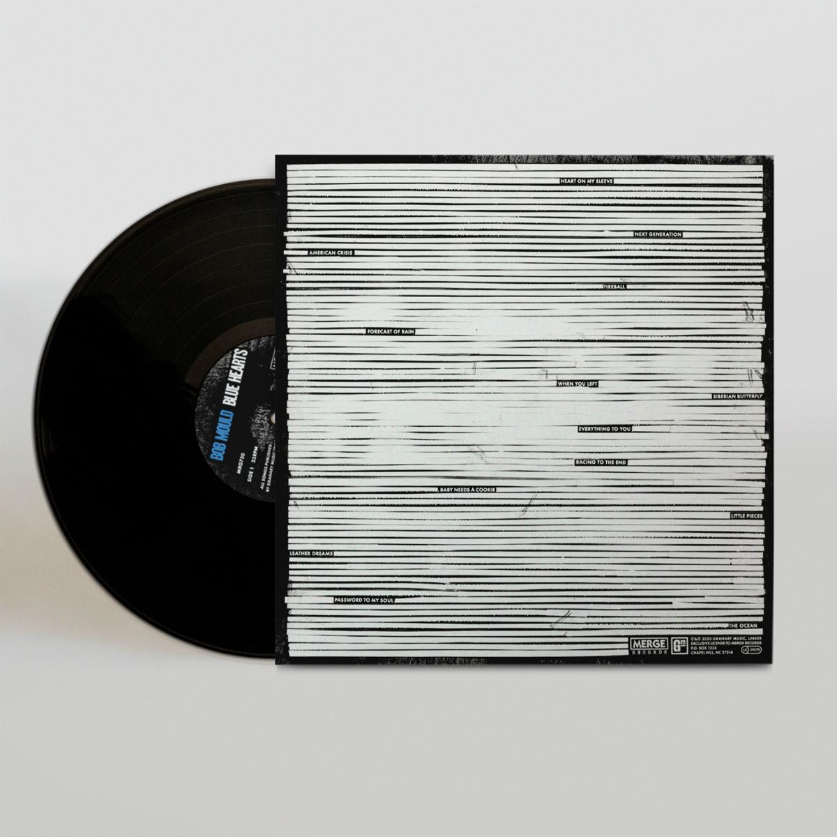 Blue Hearts LP - Black
