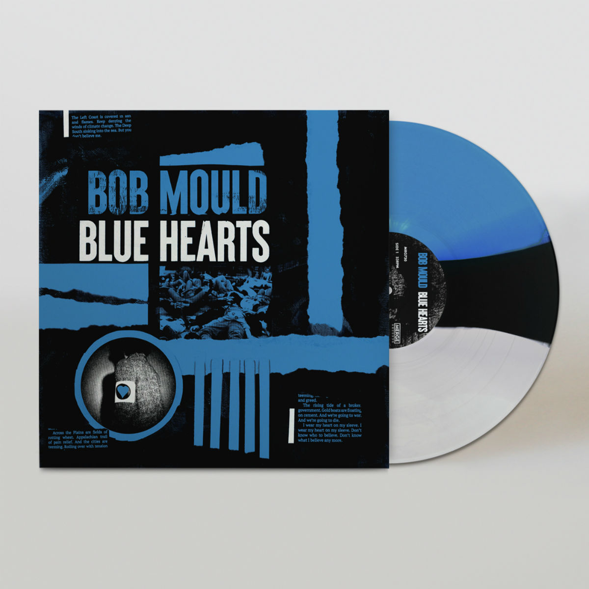 Blue Hearts LP - Limited Edition Dyed