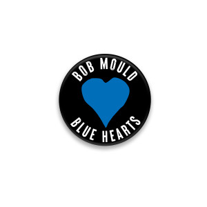 Blue Hearts Button #2
