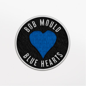 Blue Hearts Iron on Patch