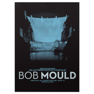 Bob Mould Fun Fun Fun Fest Nov 2, 2012 Poster