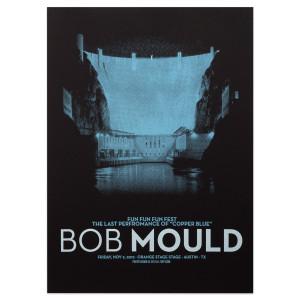 Bob Mould Fun Fun Fun Fest Nov 2, 2012 Poster