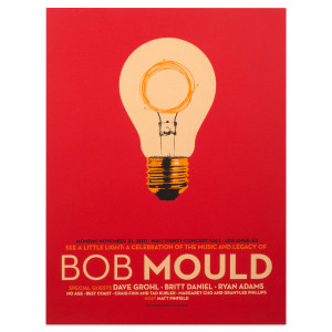 Bob Mould at the Walt Disney Concert Hall, November 2011 Poster