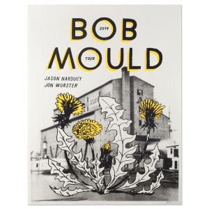 Bob Mould 2014 Tour Poster