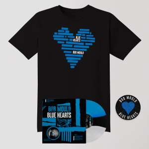 Blue Hearts LP Bundle - LP + Tee Shirt + Patch