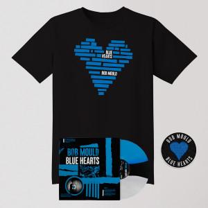 Blue Hearts LP Bundle - LP + Tee Shirt + Patch
