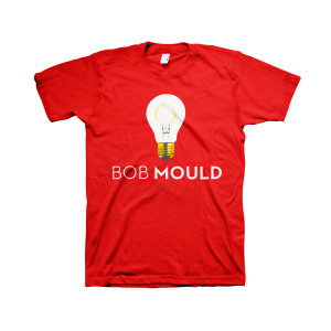 Red Unisex Lightbulb Tee