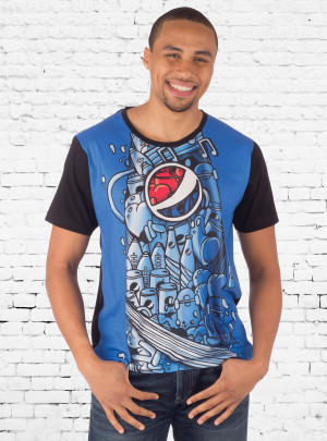 Pepsi Doodle Sublimated Tee