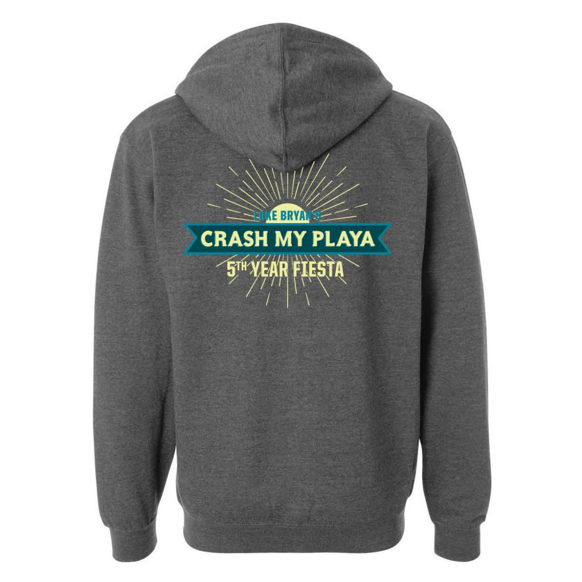 Crash My Playa 2019 Unisex Thick Hoodie