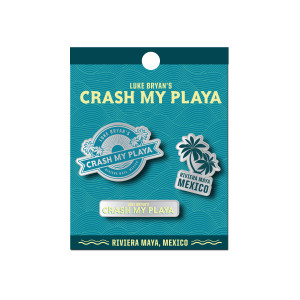 2018 Crash My Playa Pins