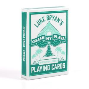 Crash My Playa Playing Cards