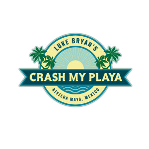 2018 Crash My Playa Sticker