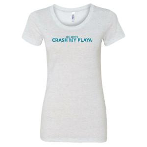 Crash My Playa 2019 Ladies Crew Tee