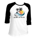 Crash My Playa 2017 Women's Raglan Shirt