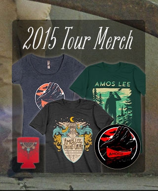 Amos Lee 2015 Tour Merchandise