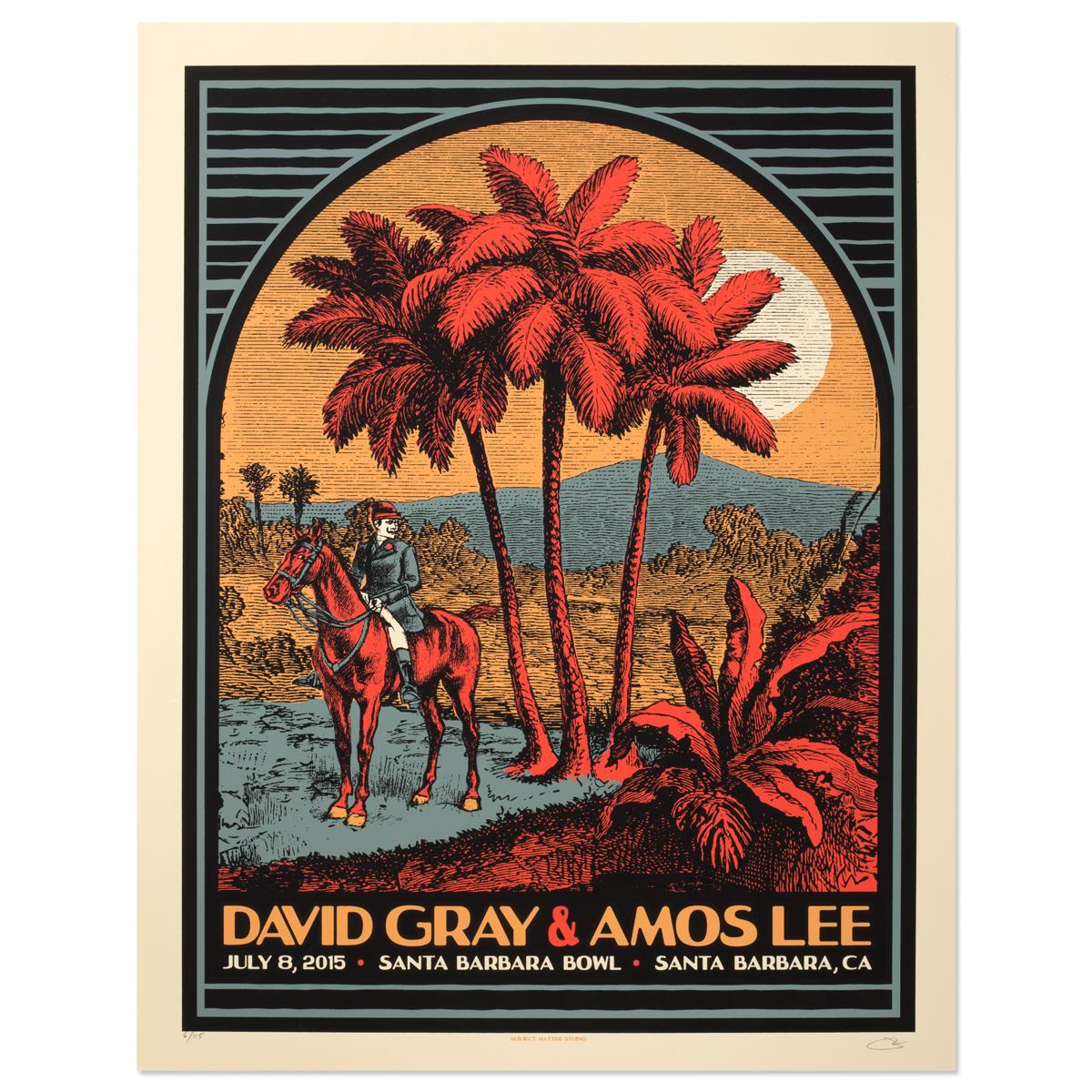 2015 Tour Poster Santa Barbara, CA