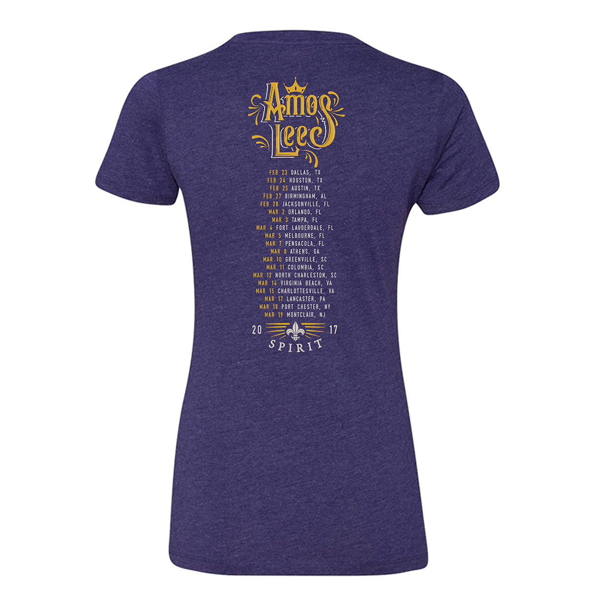 2017 Ladies Spring Tour Tee