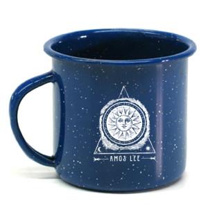 Spirit Sun Enamel Camp Mug