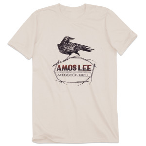 Amos Lee Mission Bell Crow T-Shirt - Cream