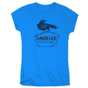 Amos Lee Mission Bell Crow Women's T-Shirt - Blue