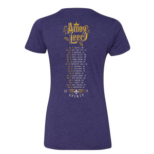 2017 Ladies Summer Tour Tee