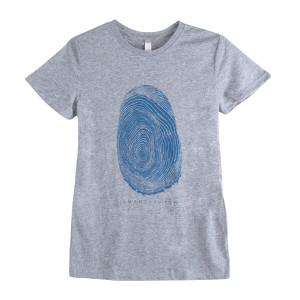 Women's Thumb Print Tee