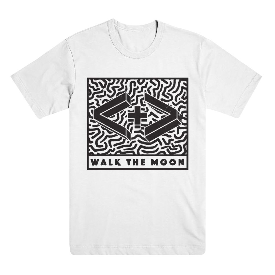 WALK THE MOON 3D Logo Tee