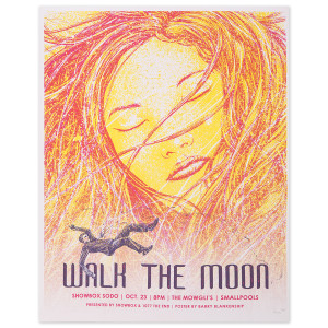 WALK THE MOON Poster 10/23/2015 Showbox Sodo Seattle, Washington