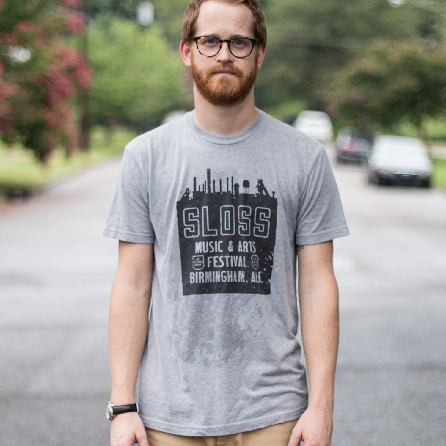 Sloss Music and Arts Festival Skyline Tee