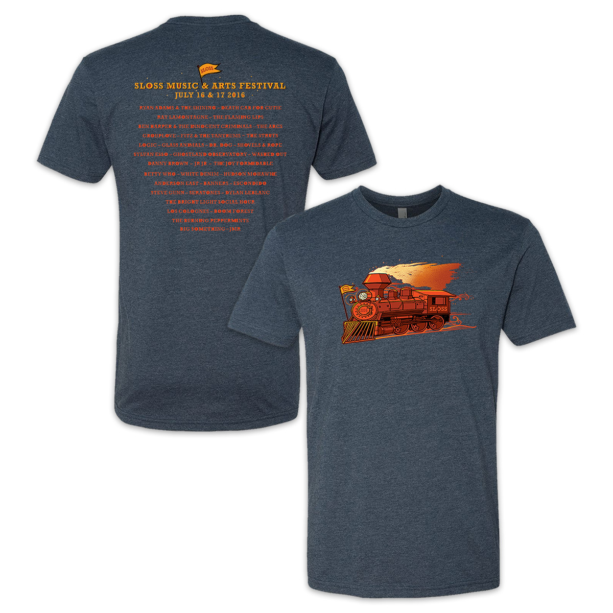 Sloss Music & Arts Festival 2016 Train Tee