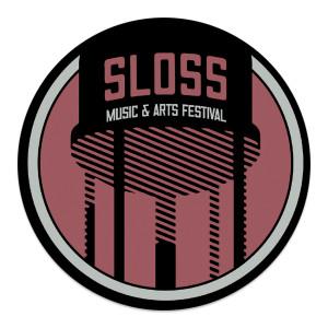 "Sloss Music & Arts Festival 2015 Red 4"" Vinyl Sticker"