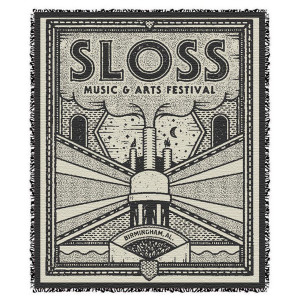 Sloss Music & Arts Festival 2016 Woven Tapestry Blanket