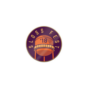 Sloss Music & Arts Festival 2018 Lapel Pin