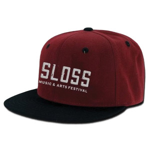 Sloss Music & Arts Festival 2015 Embroidered Logo Hat