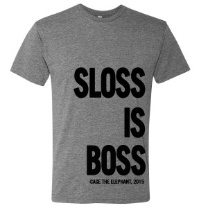 Sloss Music & Arts Festival 2015 Boss Tee
