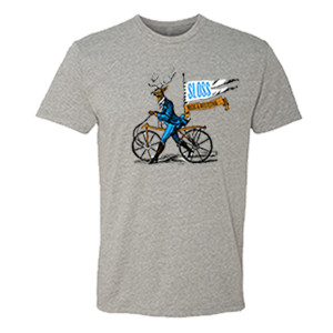 Sloss Music & Arts Festival 2016 Buck on a Bike Tee