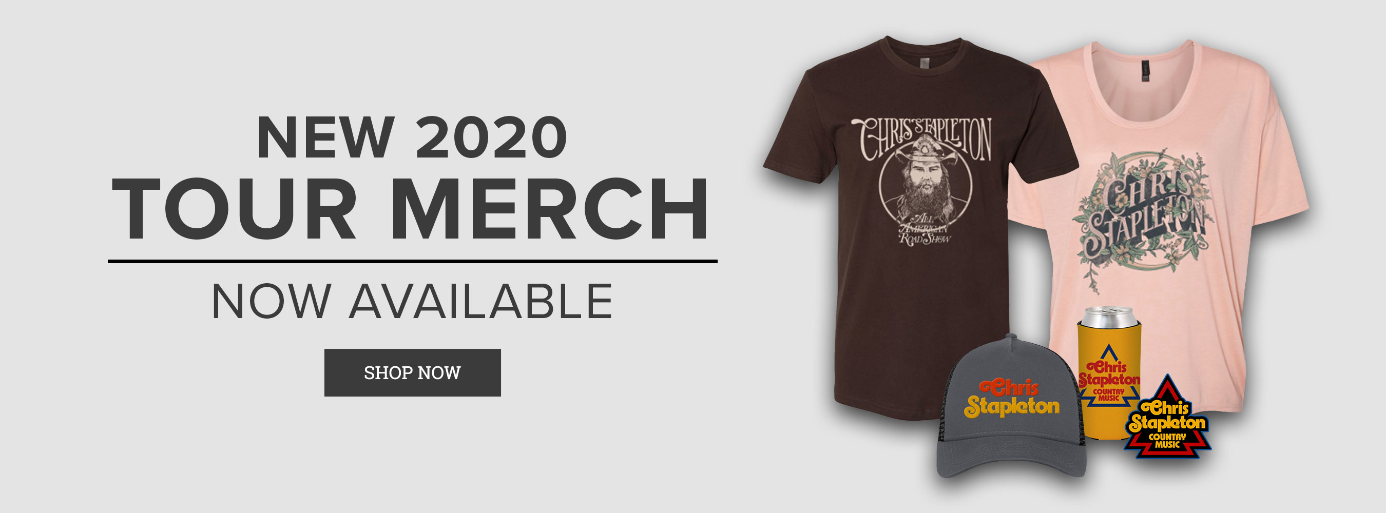New 2020 Tour Merch!
