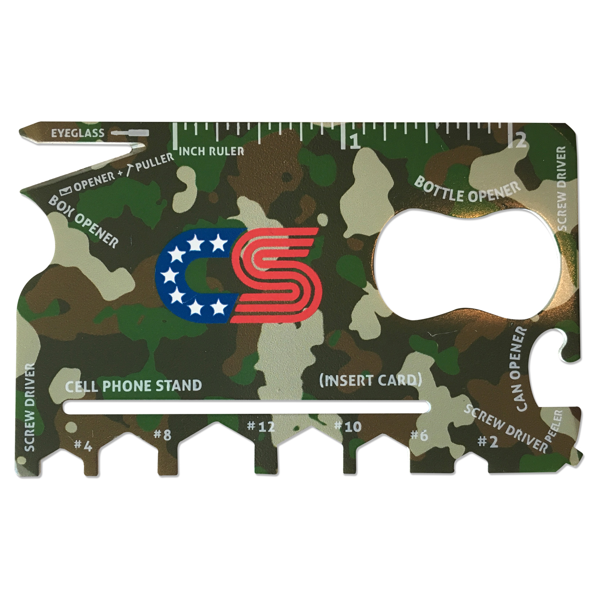 Chris Stapleton Camo Wallet Ninja
