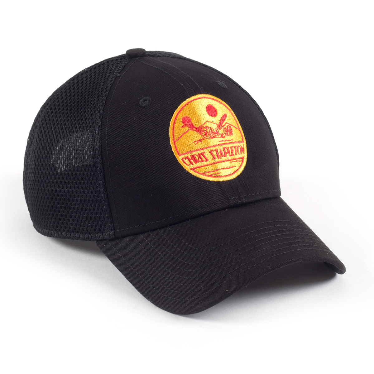 Chris Stapleton Black Roadrunner Trucker Hat