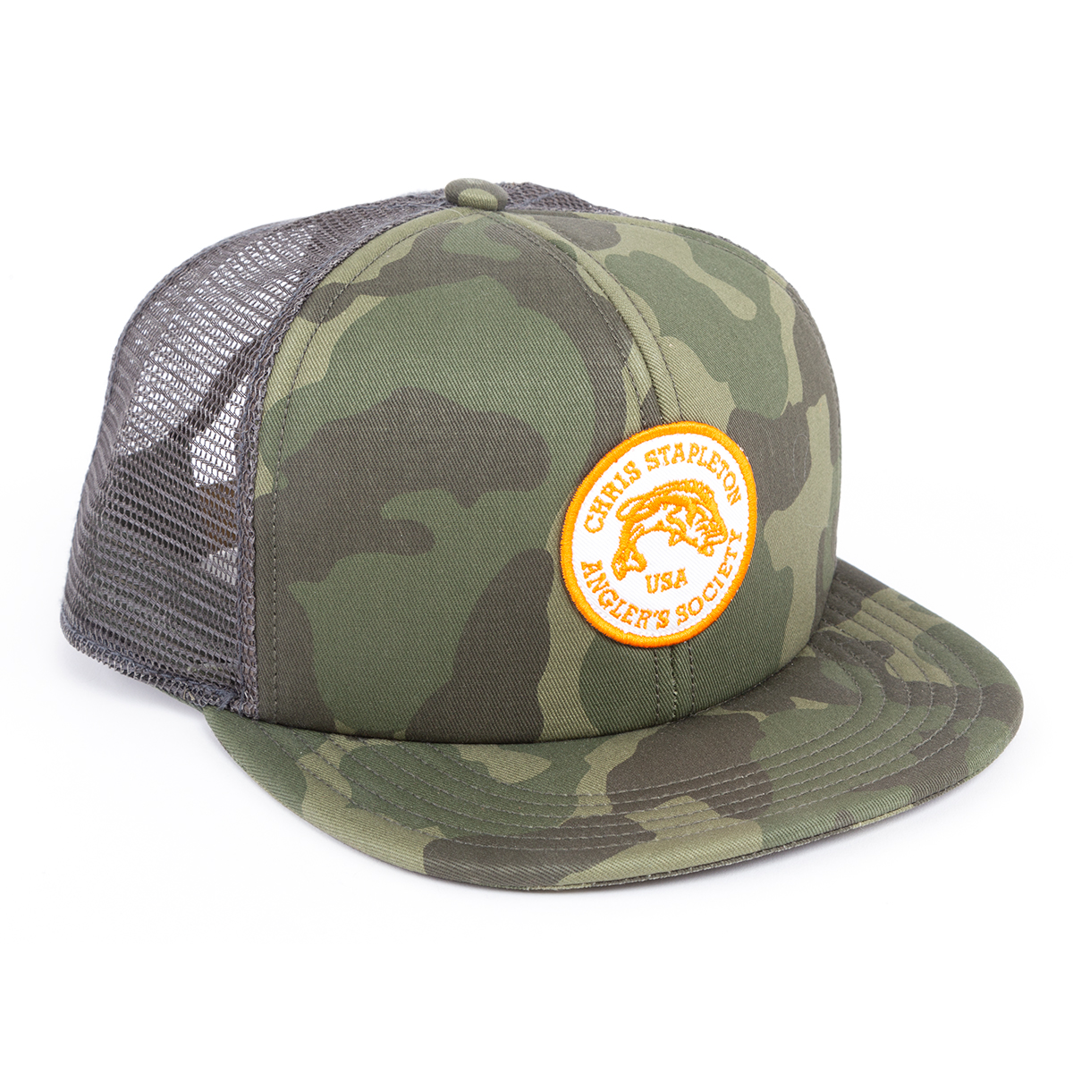 The Hauler Trucker Cap in Green Camo