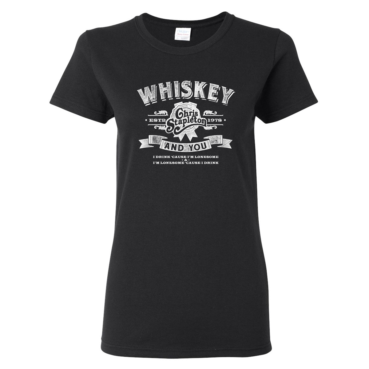The Whiskey & You Ladies T