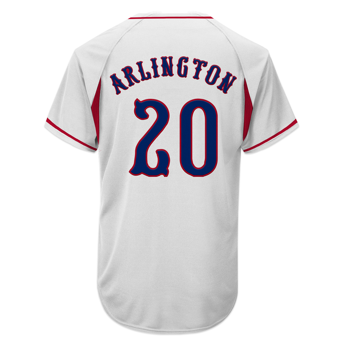 Chris Stapleton Arlington Baseball Jersey
