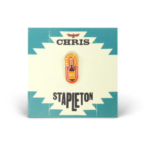 Chris Stapleton Whiskey Bottle Soft Enamel Pin