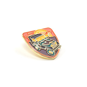 Chris Stapleton Jeep Soft Enamel Pin