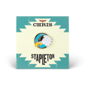 Chris Stapleton Eagle Soft Enamel Pin
