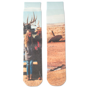 Traveller Album Art Socks
