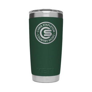 Chris Stapleton Forest 20 oz Yeti Tumbler with Lid