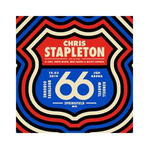 Chris Stapleton Show Poster – Springfield, MO 10/3/19